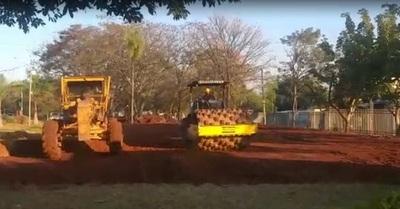 COVID-19: Acosta Ñu inicia obras del pabellón modular