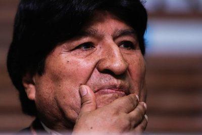 Evo Morales se expresa en contra del candidato de EE.UU. al BID