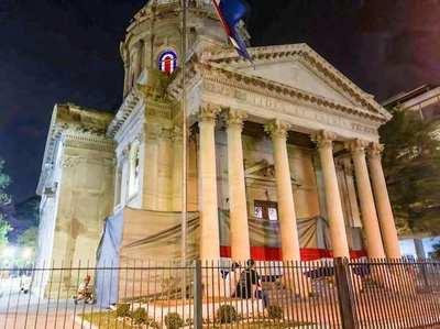 Fiscalía ordena detención tras vandalismo en el Panteón de los Héroes •