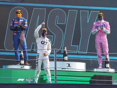 Pierre Gasly sorprende a todos en Monza