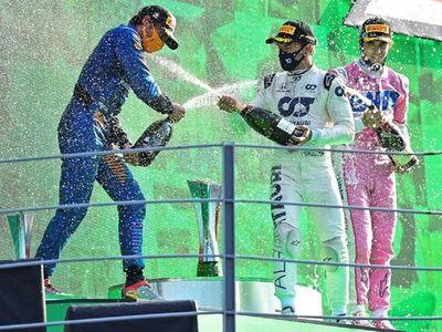 Pierre Gasly, sorprendente ganador del GP de Italia