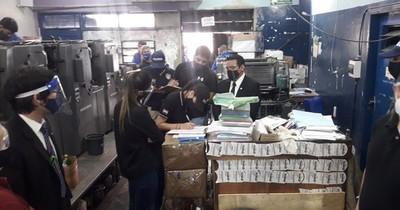 La Nación / Fiscalía deslacra hoy documentos incautados en el caso evasión