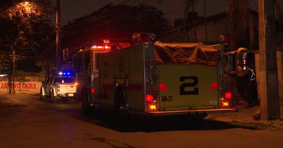 Incendio en local de comidas en Asunción
