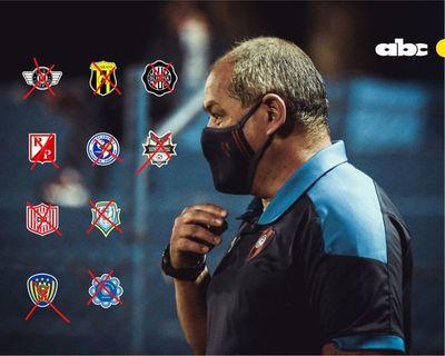 Histórico: el Cerro Porteño de Francisco Arce es el primer equipo en sumar 10 victorias seguidas en torneos cortos