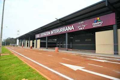 Ultiman detalles para habilitación de nueva Estación Interurbana de CDE