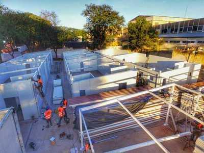 Gobierno construirá otros 5 pabellones de contingencia en el Hospital de Itauguá