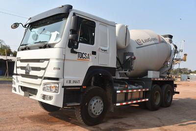 Mixer Liugong, soluciones para concreteras
