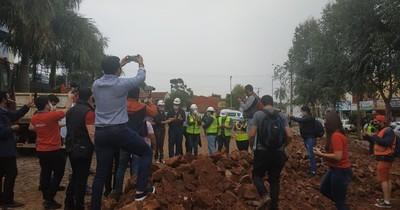 La Nación / Iniciaron obras para nuevo pabellón de contingencia en Hospital Regional de CDE