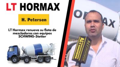 LT Hormax renueva su flota de mezcladores con equipos SCHWING-Stetter