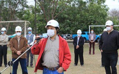 Ande inicia reparación de distribución, y 2.700 alumbrados públicos en Alto Paraná