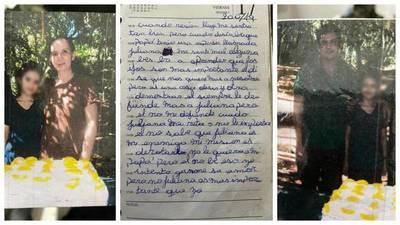 """Exponen diario de la niña abatida: """"Yo quisiera no haber nacido"""""""