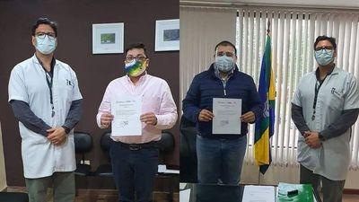 Ayolas; Charly Duarte y Christian Rolón vencieron al COVID