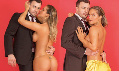 ¡Súper hot! Wolscham se desnuda para su novio