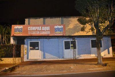 Malvivientes robaron unos G. 60 millones de agencia de juegos de azar en Areguá