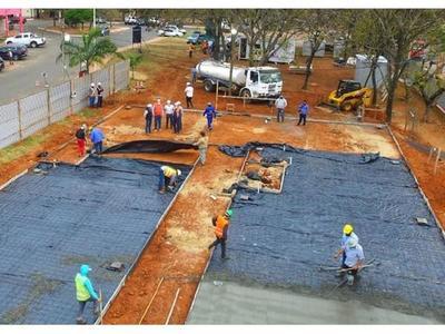 Inician construcción de nuevos pabellones de contingencia