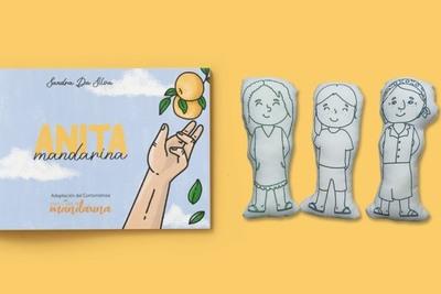 """""""Anita Mandarina"""", le cuenta a los niños cómo cuidarse de los peligros"""