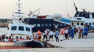 Italia desmantela una organización que traficaba con migrantes