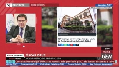 HOY / Óscar Orué, viceministro de la SET, sobre esquema de empresas fantasmas para crear facturas falsas