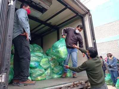Gobierno inició distribución de alimentos a 6.500 pequeños productores de Misiones