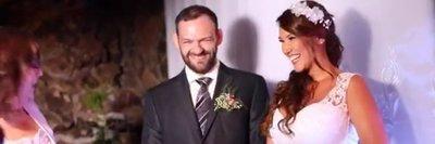 Marido de humorista tiene covid y ella hace un video para pasar el mal rato