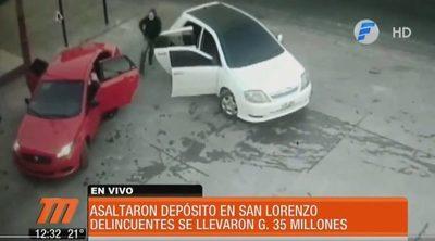 Inseguridad: Tres asaltos ocurrió ayer lunes en San Lorenzo