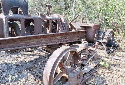 Confirman que cementerio de camiones es de la época de la Guerra del Chaco