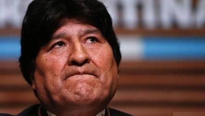 Inhabilitan a Morales para postularse a senador en Bolivia