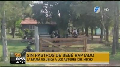 No hay rastros de bebé raptado hace varios días