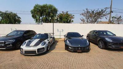 Hasta auto Ferrari envían de contrabando desde Paraguay al Brasil