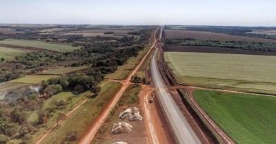 La Nación / Corredor de exportaciones registra avance del 65% en las obras