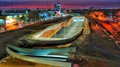 Hoy se habilita el paso de vehículo por el multiviaducto del kilómetro 7