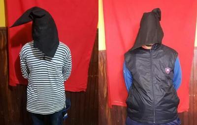 Supuestos asaltantes fueron detenidos en San Lorenzo