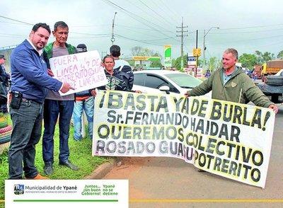 Ciudadanos de Central reclaman mayor presencia de buses
