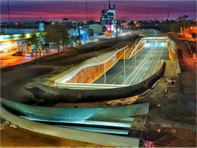 Habilitan parte del multiviaducto