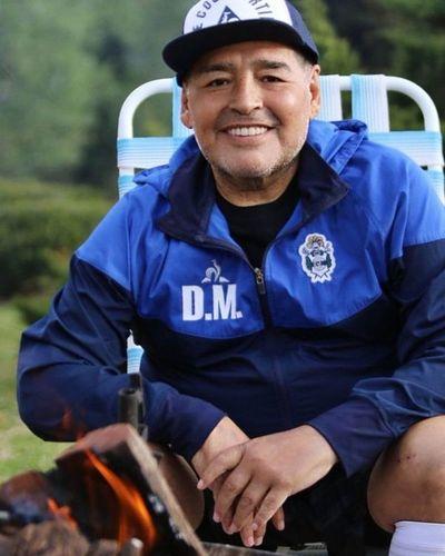 Maradona se hizo controles médicos generales en La Plata