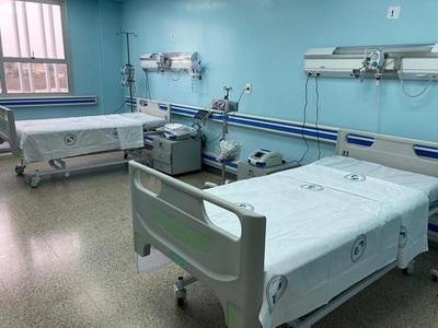Salud Pública triplica capacidad de unidad de reanimación y cuidados críticos en Alto Paraná