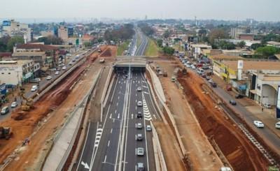 Multiviaducto CDE: concluye primera etapa y habilitan la Ruta PY 02