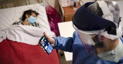 La Nación / Hospital-escuela en Argentina, con alumnos virtuales por el COVID-19