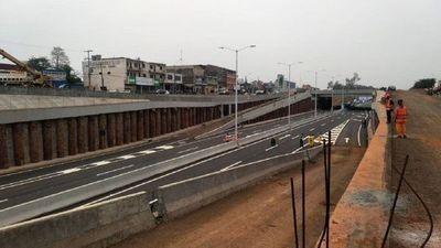 Habilitan el primer tramo del multiviaducto en Ciudad del Este