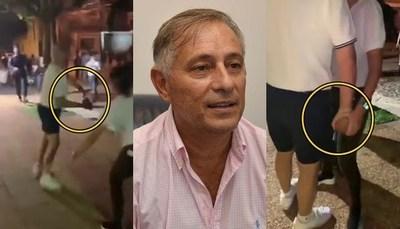 "Ex alto funcionario de ""IPS"" quiso apedrear a manifestastes"