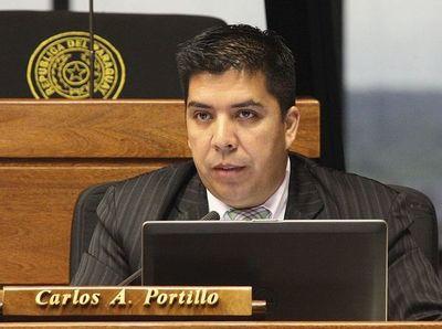 Diputado Carlos Portillo irá a juicio oral y público