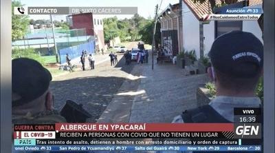 HOY / Las personas con Covid-19 y sin un lugar donde aislarse, son recibidos en el albergue de Ypacaraí