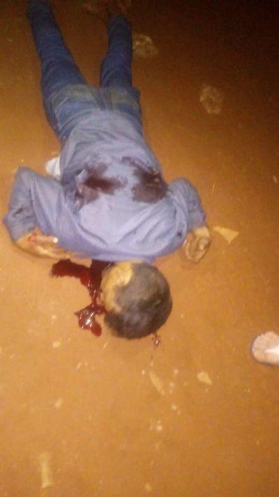Exconvicto asesinado por sicarios en asentamiento San Miguel