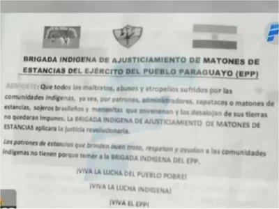 Célula del EPP se atribuye rapto del ex vicepresidente Óscar Denis
