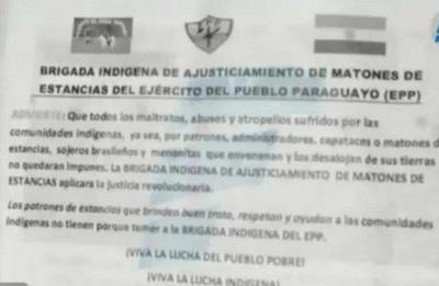 EPP se atribuye secuestro de Óscar Denis