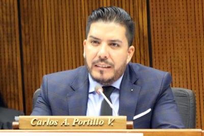 Por tráfico de influencias el diputado Portillo va a juicio oral