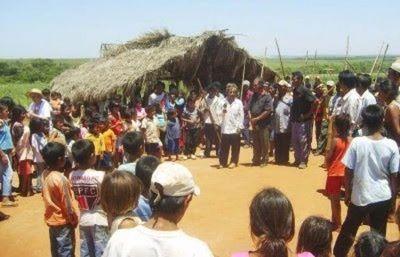 Indígenas cerraran ruta PY5 y amenazan con entrar a buscar a Adelio si el grupo terrorista no lo libera