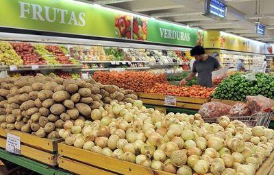 Precio de canasta básica subió 0,17% en CDE