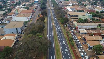 Piden usar calles alternativas para evitar congestión vehicular