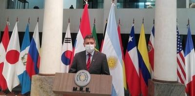 HOY / Embajador argentino asegura que su Gobierno cumple en el cuidado de las sedes diplomáticas